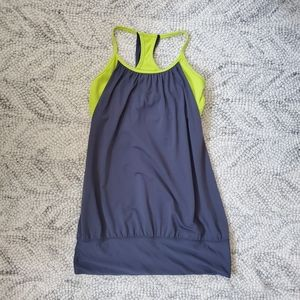 Lululemon Grey No Limit Racerback Size 6